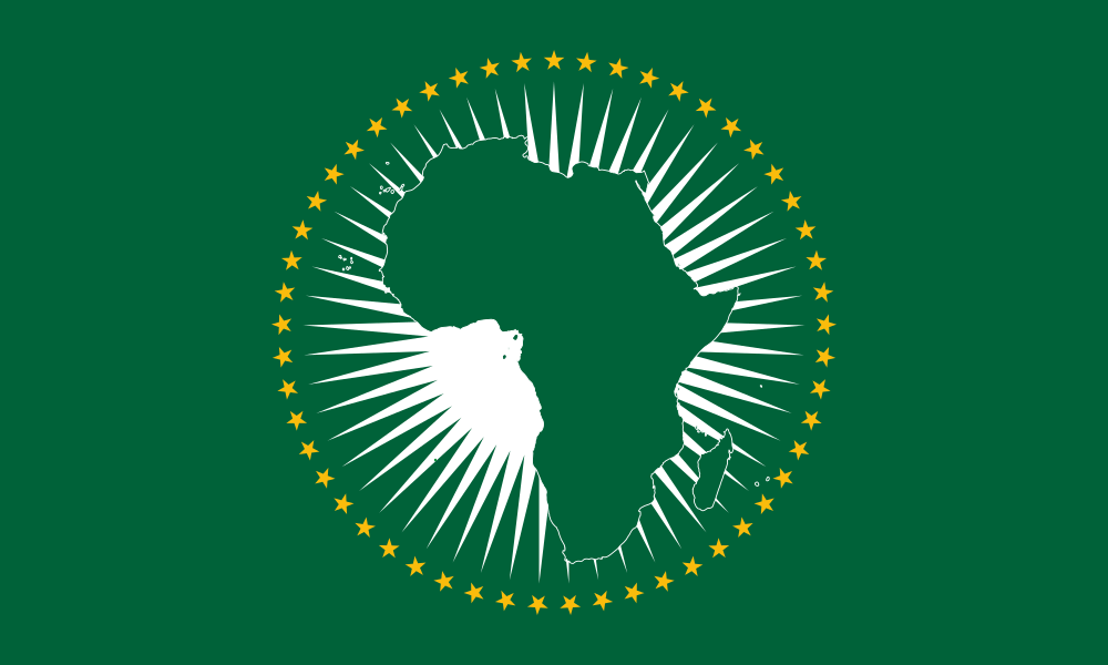 African Union flag image preview