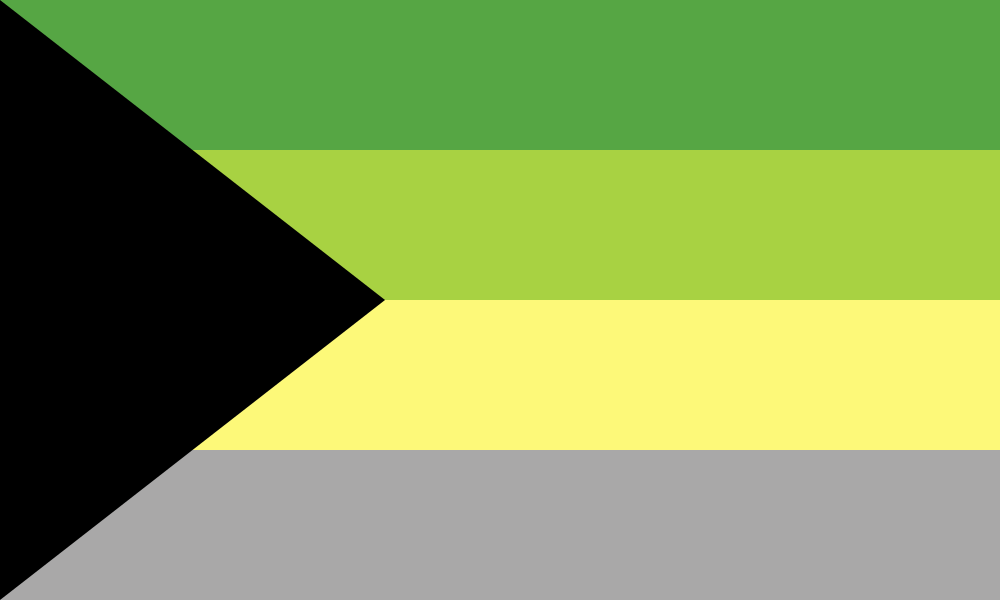 Demiromantic (Alternate) flag image preview