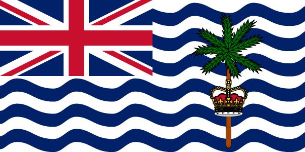 British Indian Ocean Territory flag image preview