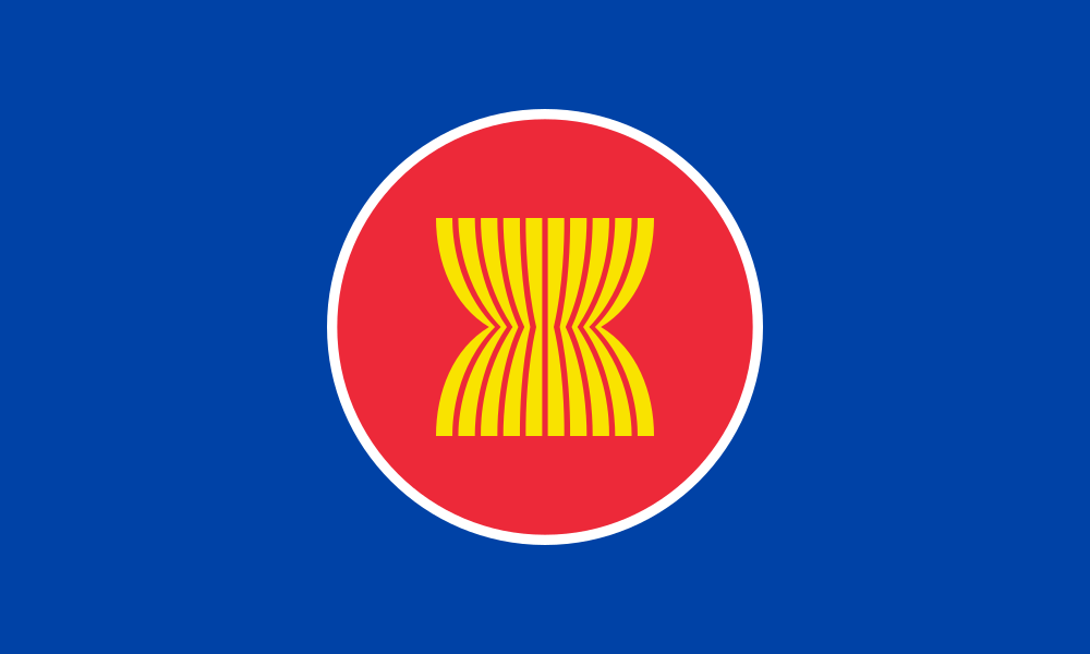 ASEAN flag image preview