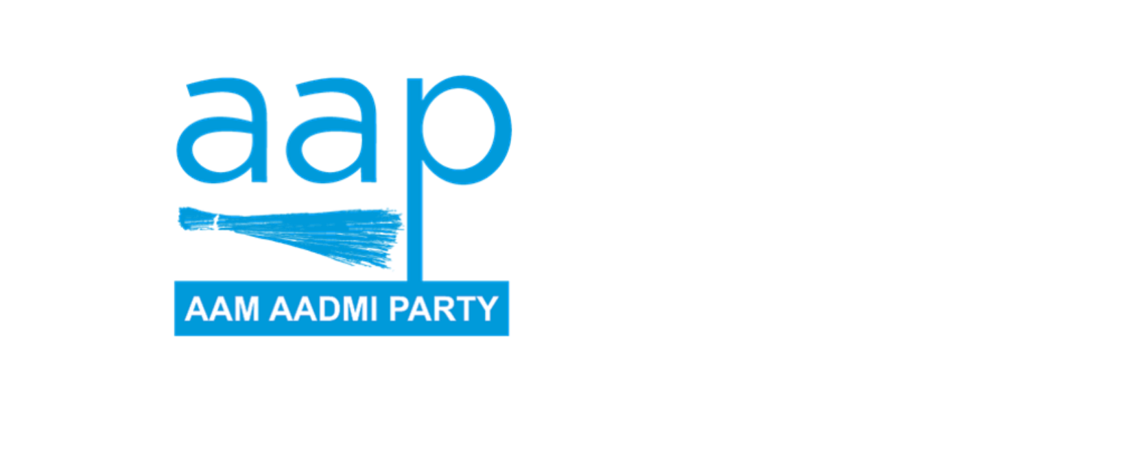 Aam Aadmi Party flag image preview