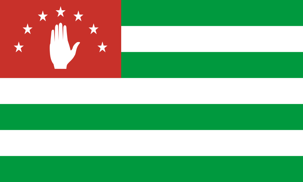 Abkhazia flag image preview