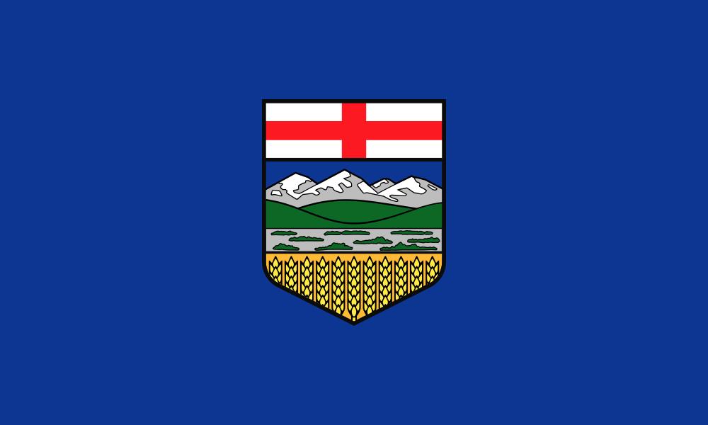 Alberta flag image preview