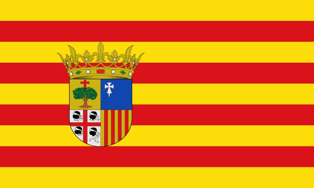Aragon flag image preview