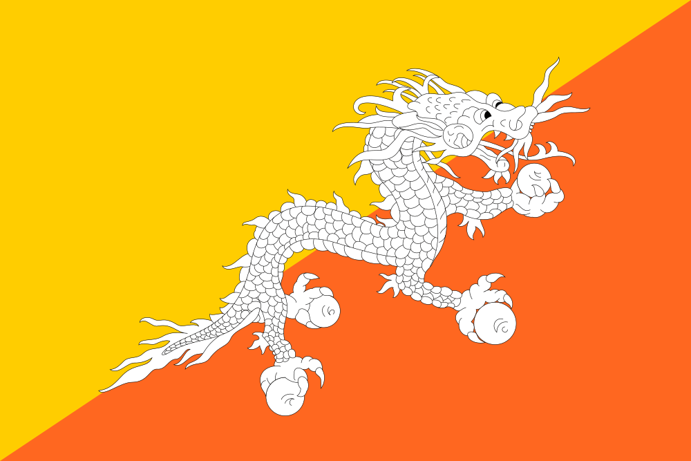 Bhutan flag image preview