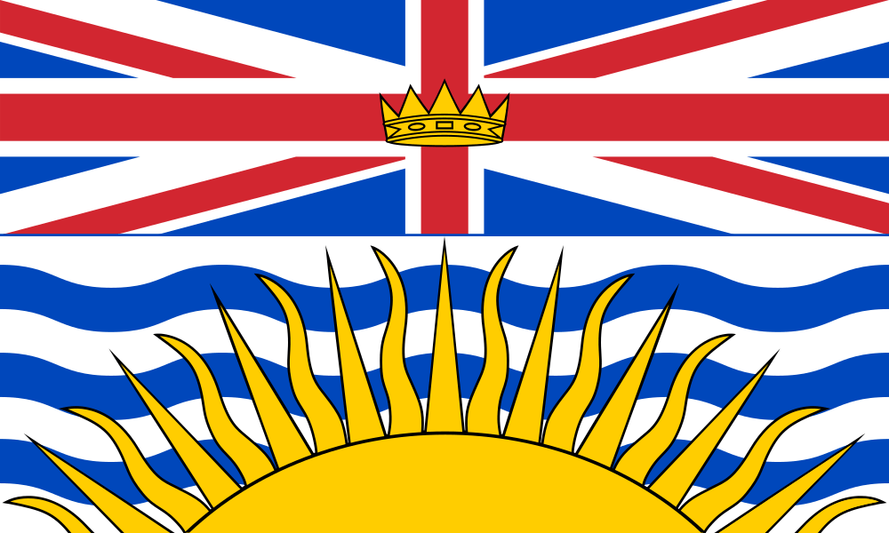 British Columbia flag image preview