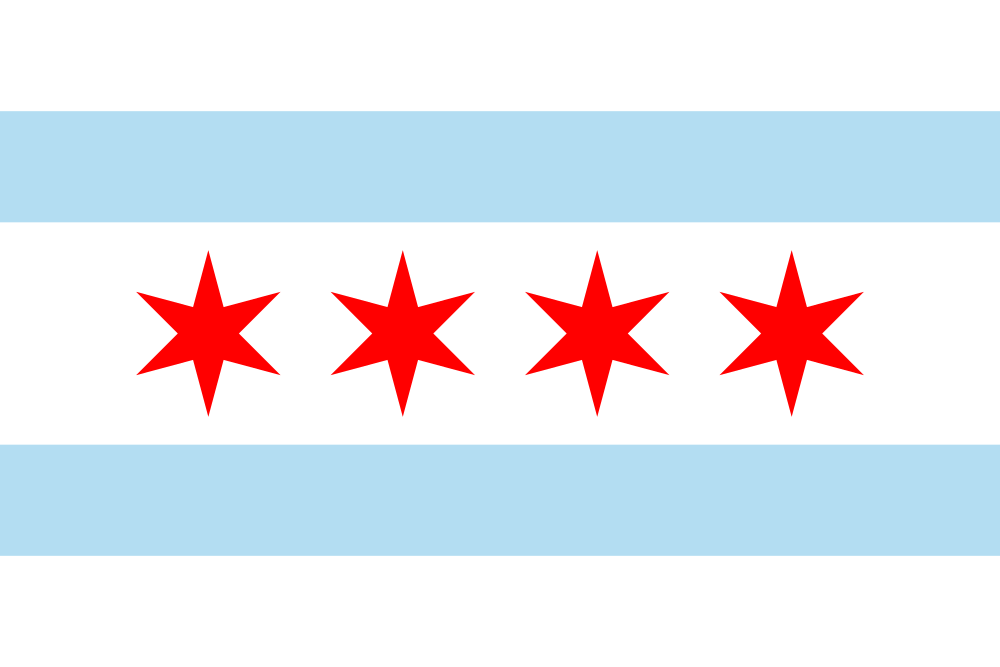 Chicago flag image preview