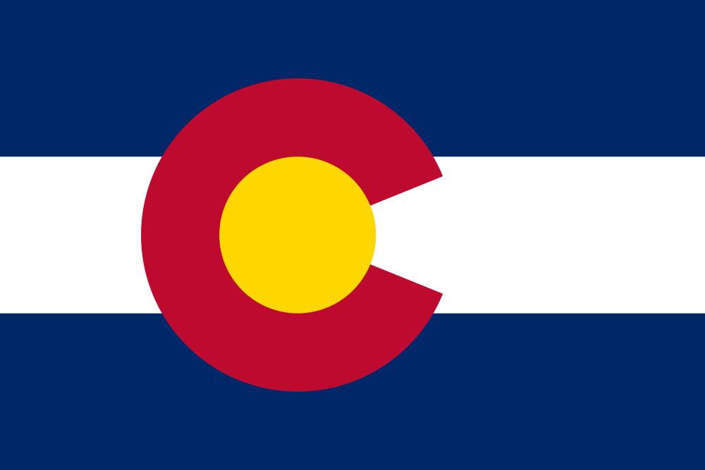 Colorado flag image preview