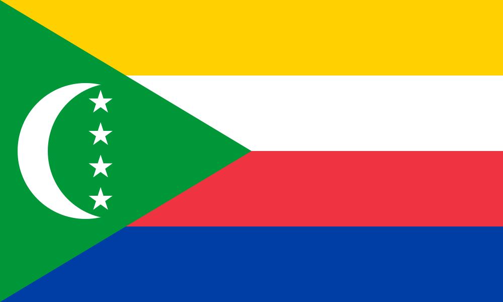 Comoros flag image preview