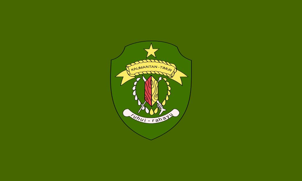 East Kalimantan flag image preview