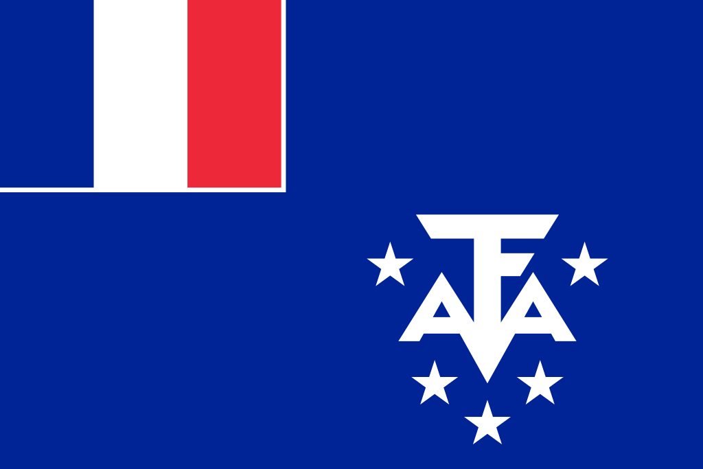 French Southern and Antarctic Lands flag image preview