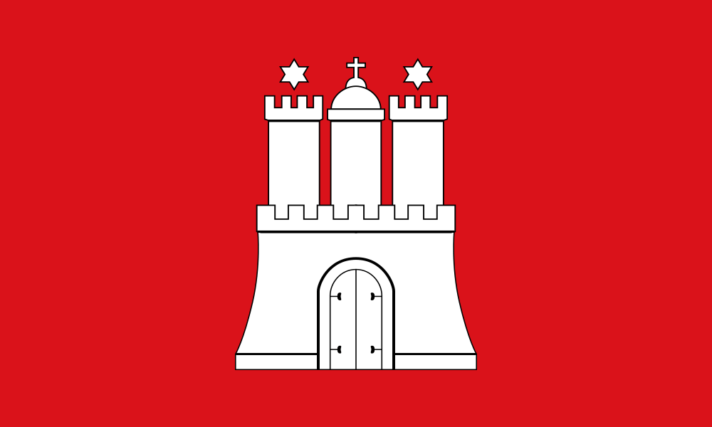 Hamburg flag image preview