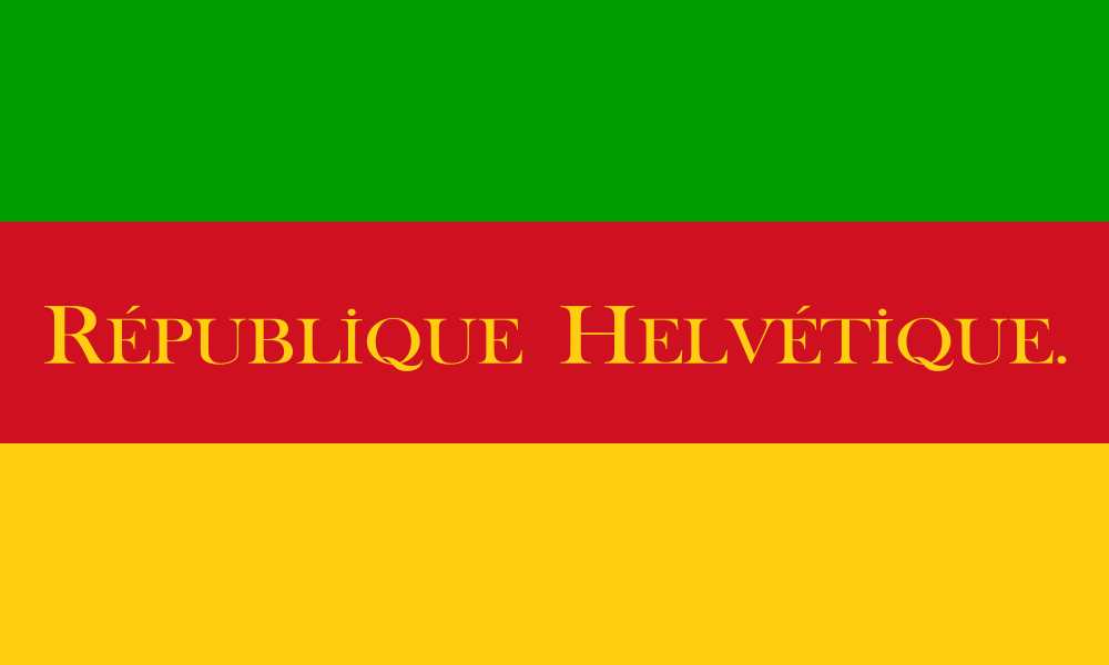 Helvetic Republic flag image preview