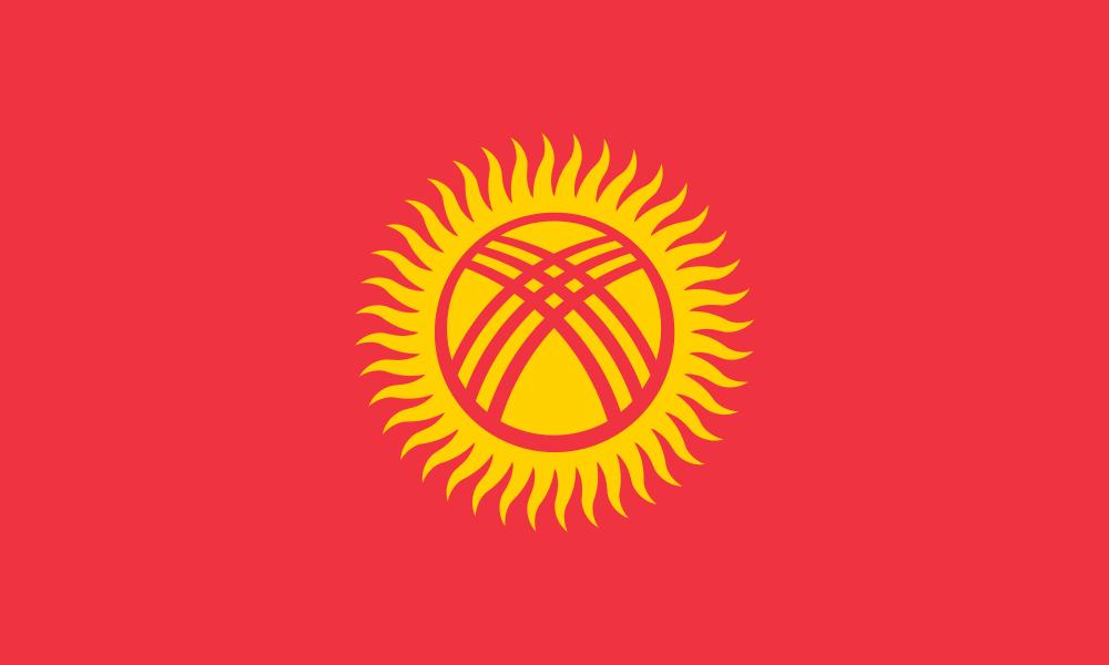 Kyrgyzstan flag image preview