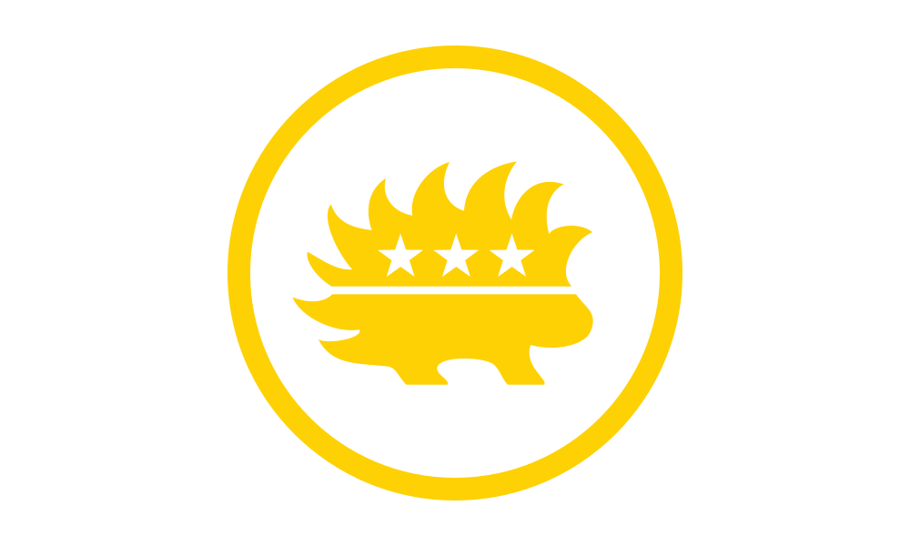 Libertarian Party (Porcupine) flag image preview