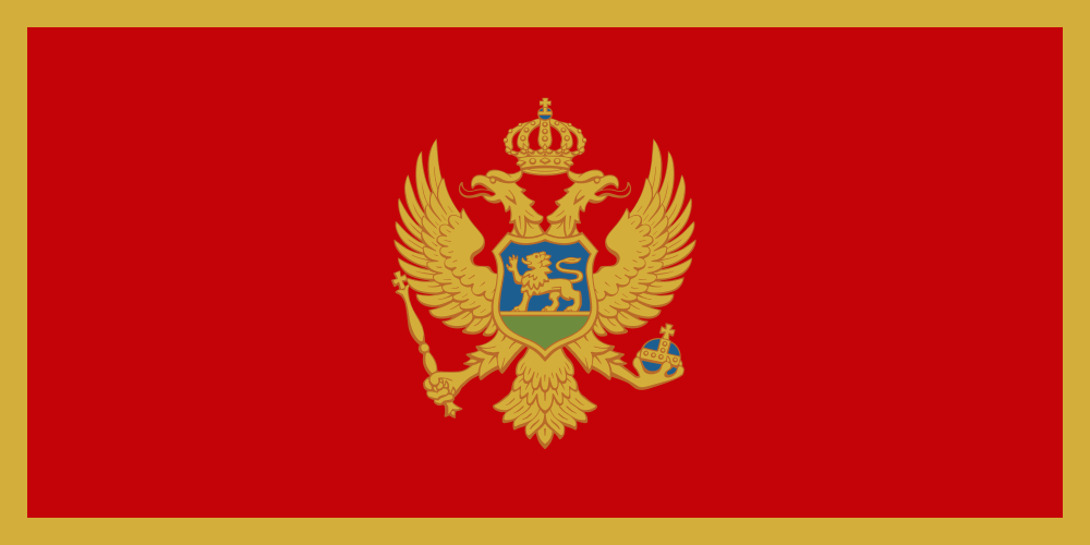 Montenegro flag image preview