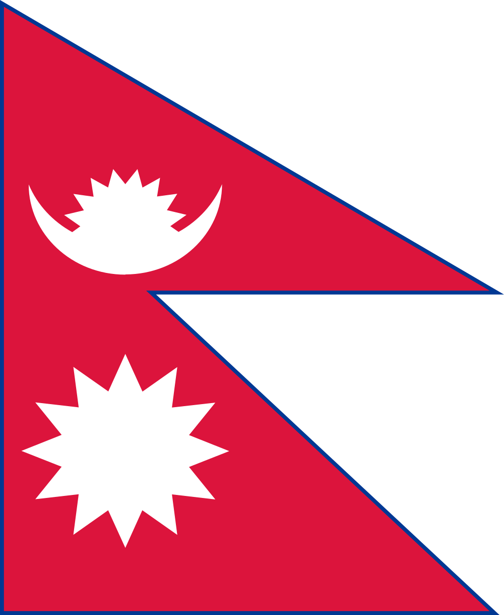 Nepal flag image preview