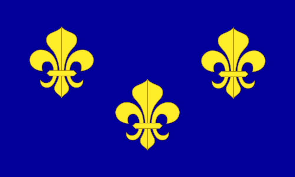 New France flag image preview