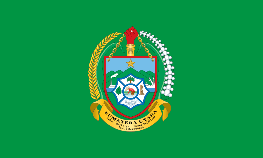 North Sumatra flag image preview