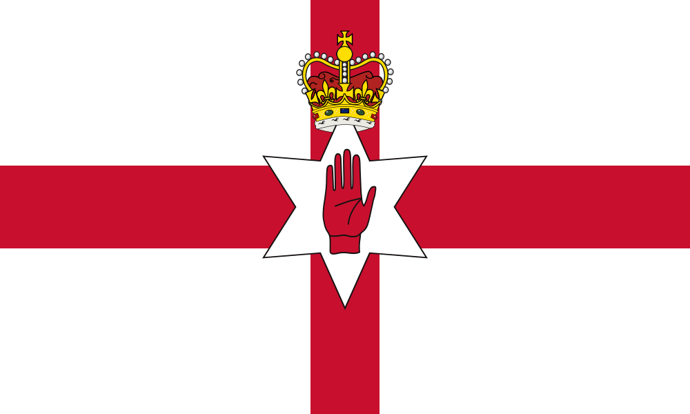 Northern Ireland Flag (Ulster Banner) flag image preview
