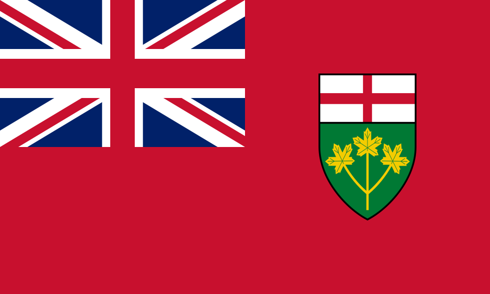 Ontario flag image preview