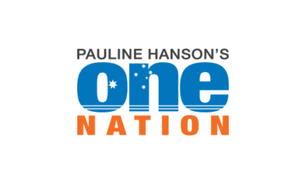 Pauline Hanson's One Nation flag image preview