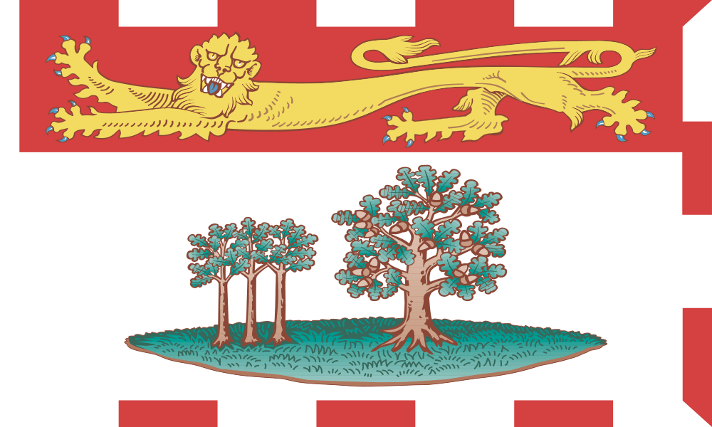 Prince Edward Island flag image preview