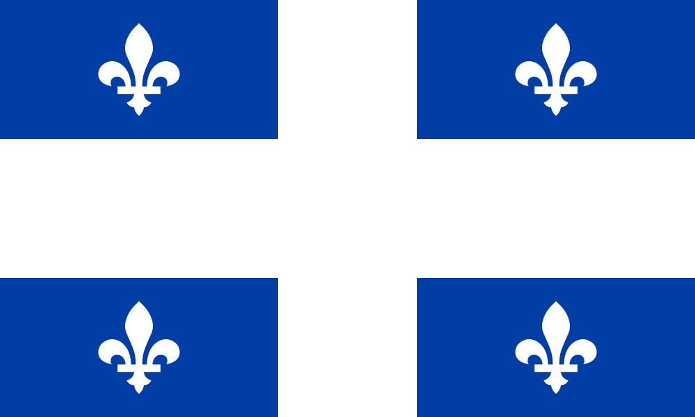 Quebec flag image preview
