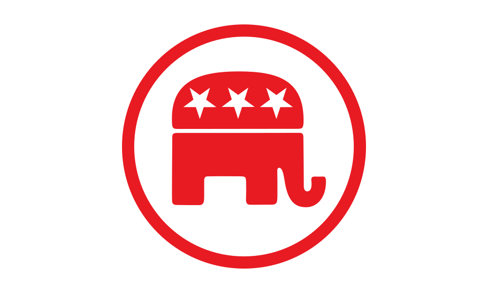 Republican Party (Elephant) flag image preview