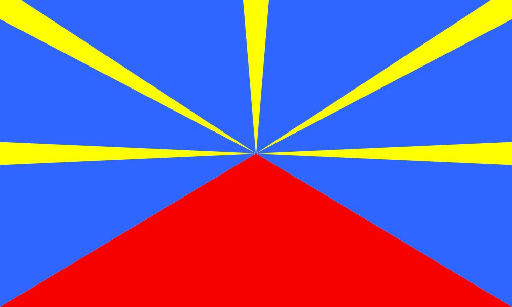 Réunion flag image preview