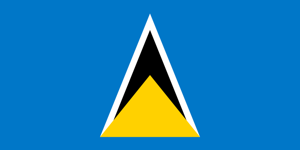 Saint Lucia flag image preview