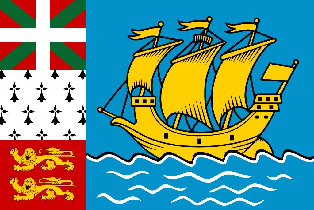 Saint Pierre et Miquelon (Unofficial) flag image preview