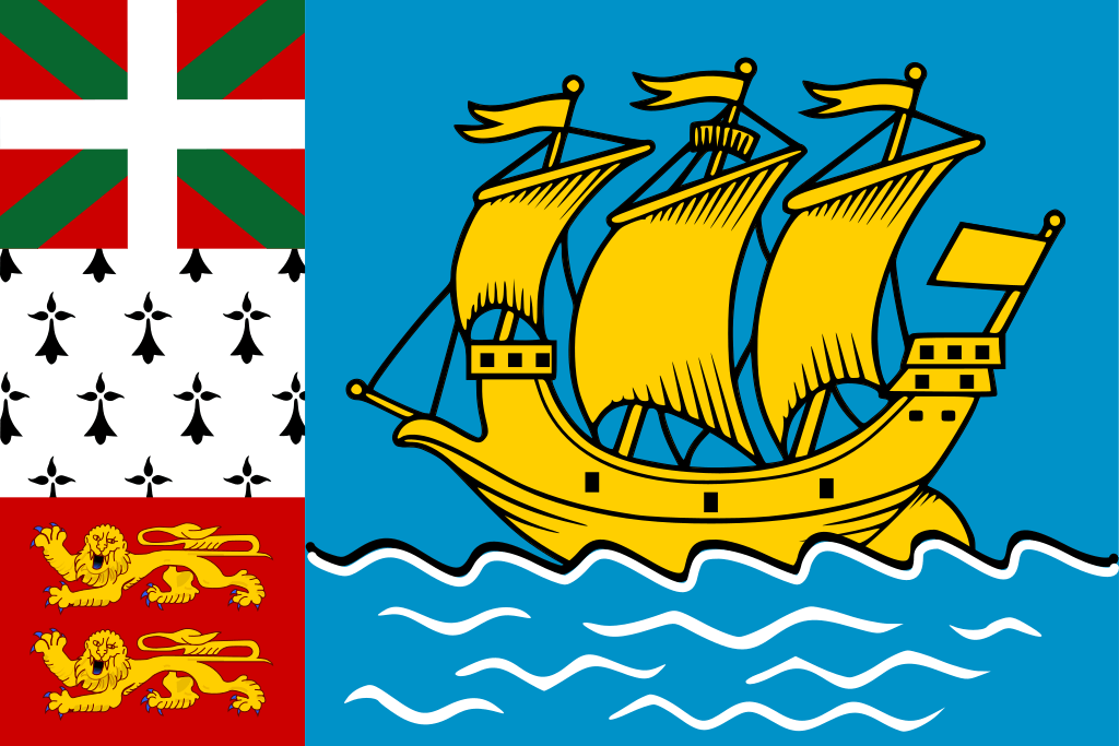 Saint Pierre et Miquelon flag image preview