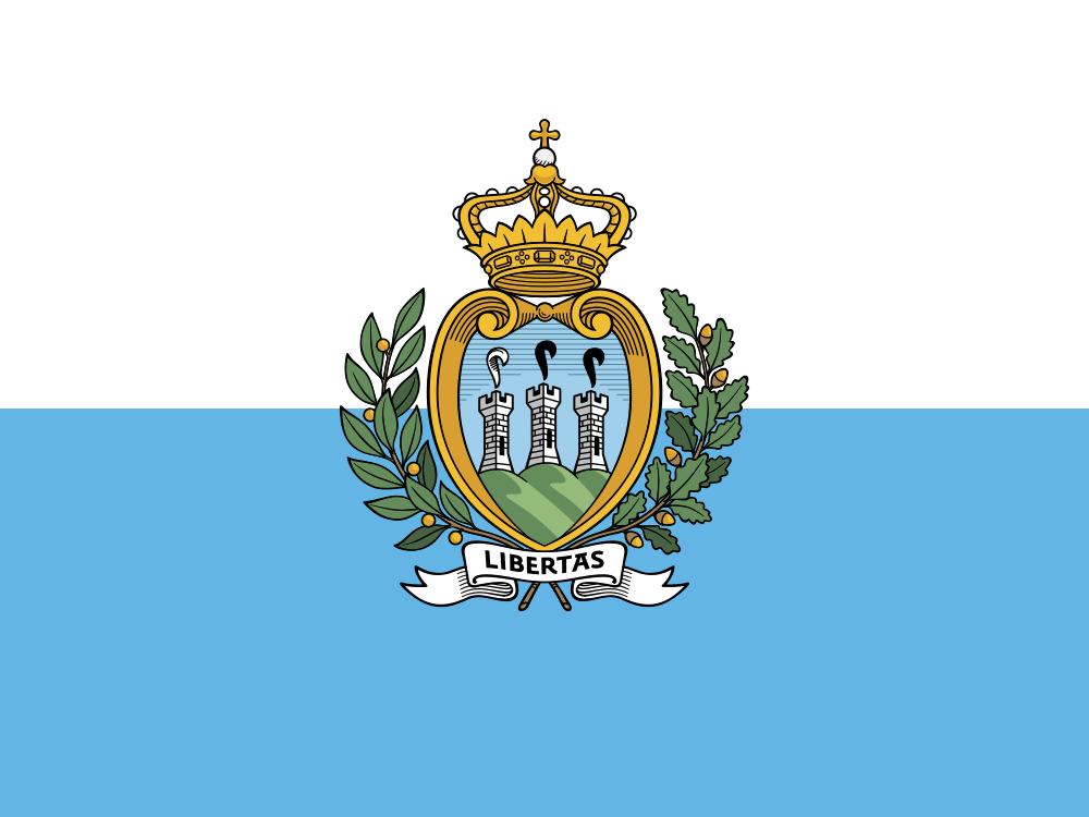 San Marino flag image preview