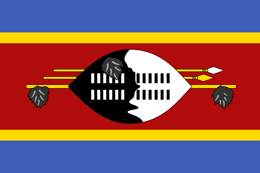 Swaziland (Eswatini) flag image preview