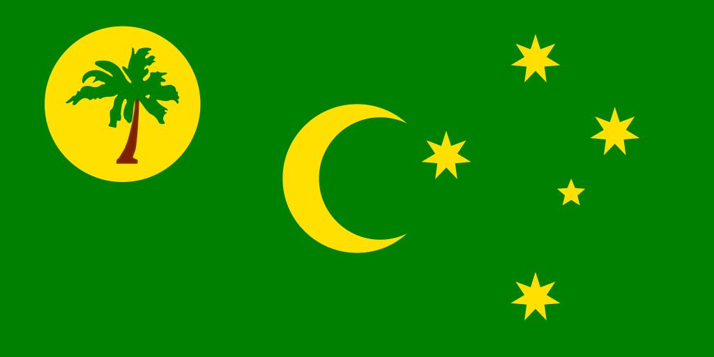 Cocos (Keeling) Islands flag image preview