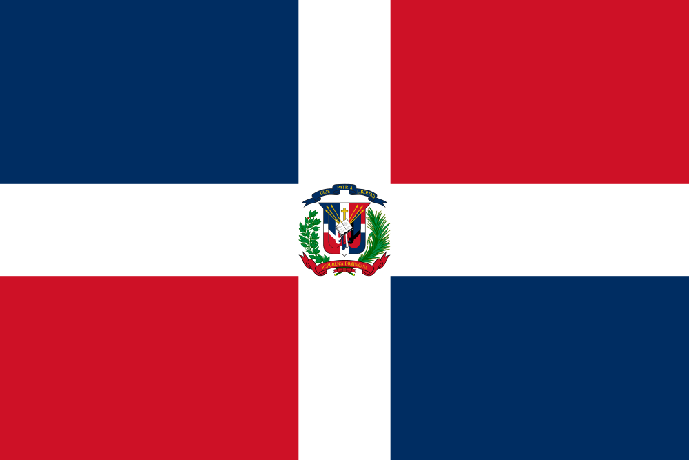 Dominican Republic flag image preview