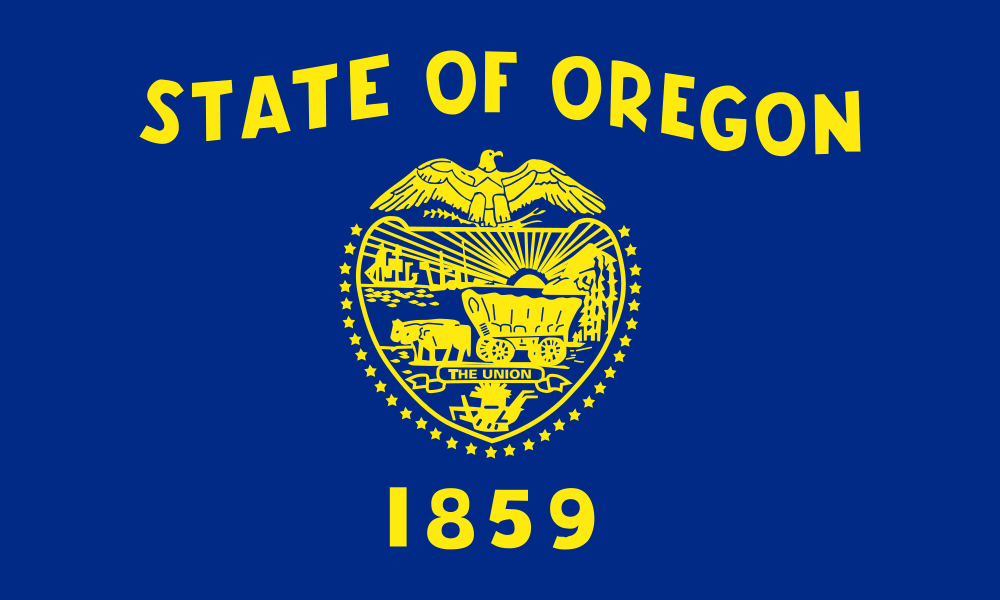 Oregon flag image preview