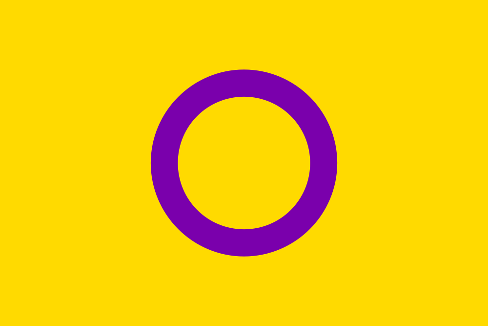Intersex flag image preview
