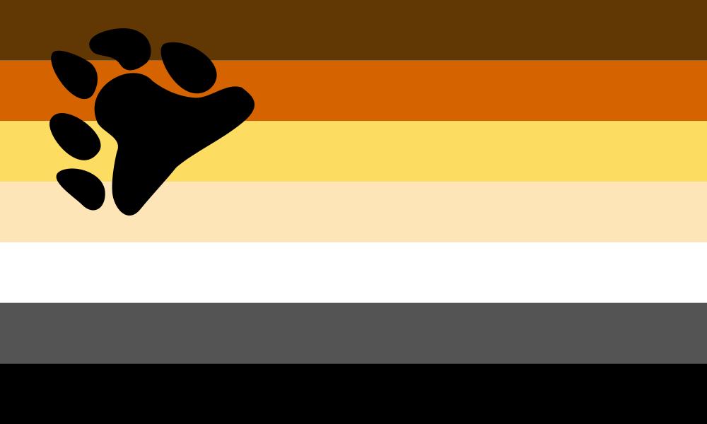 International Bear Brotherhood flag image preview