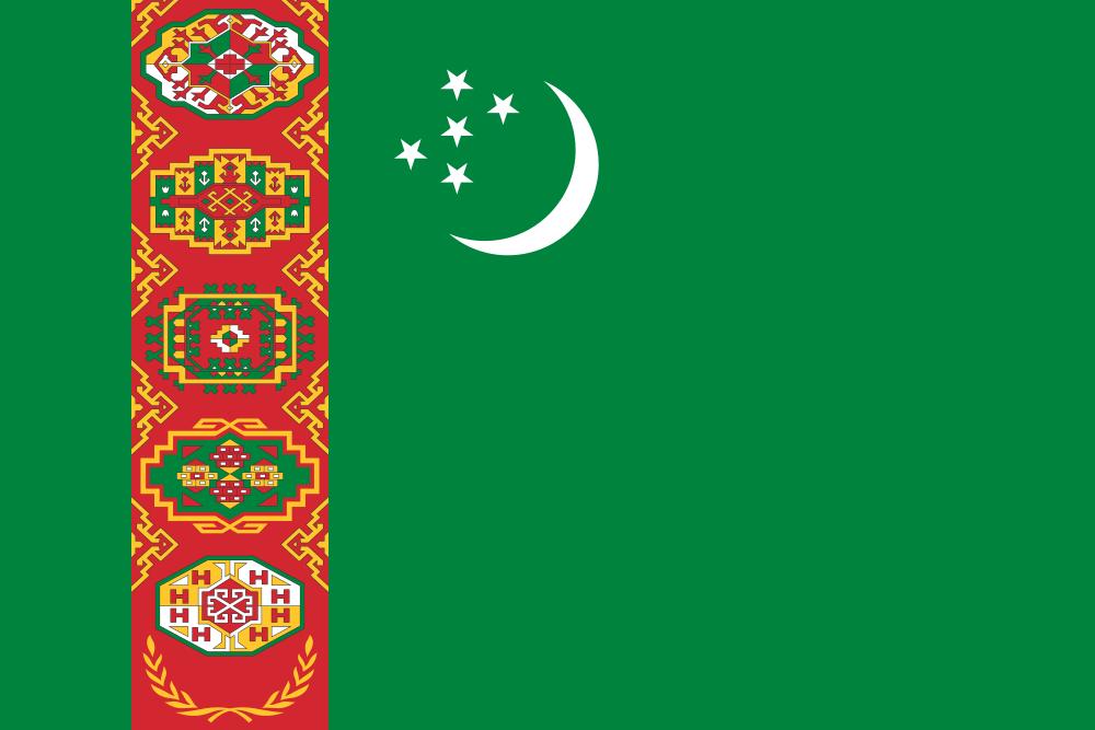 Turkmenistan flag image preview