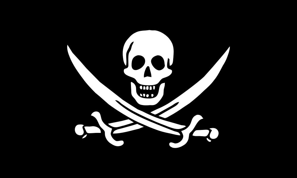Pirate Flag of Jack Rackham flag image preview