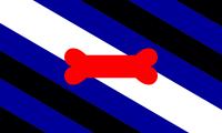 Black Transgender flag image preview