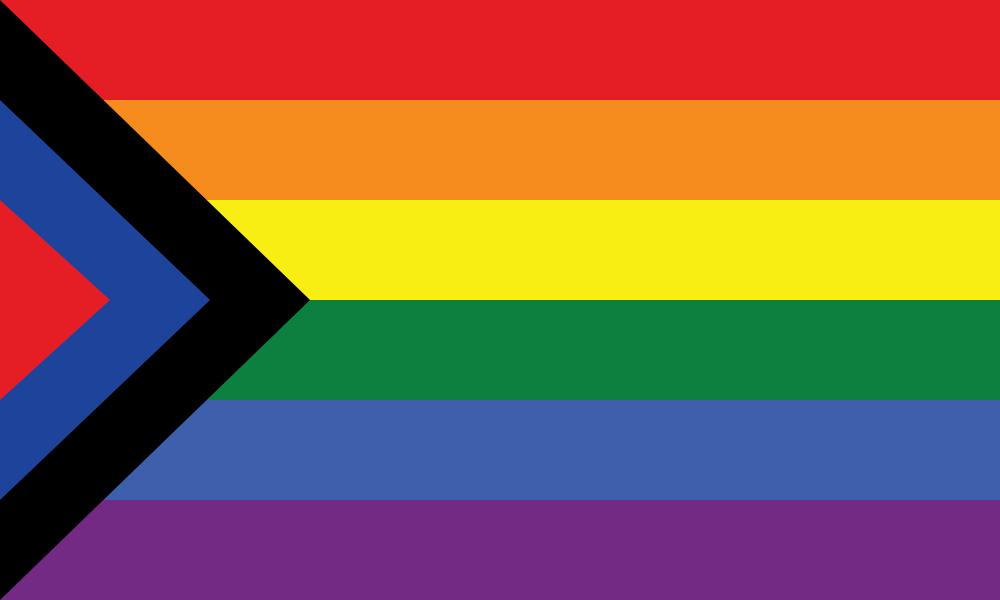 Social Justice Pride flag image preview
