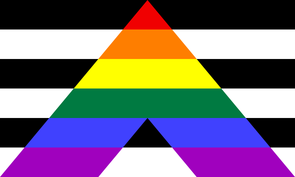 Straight Ally flag image preview