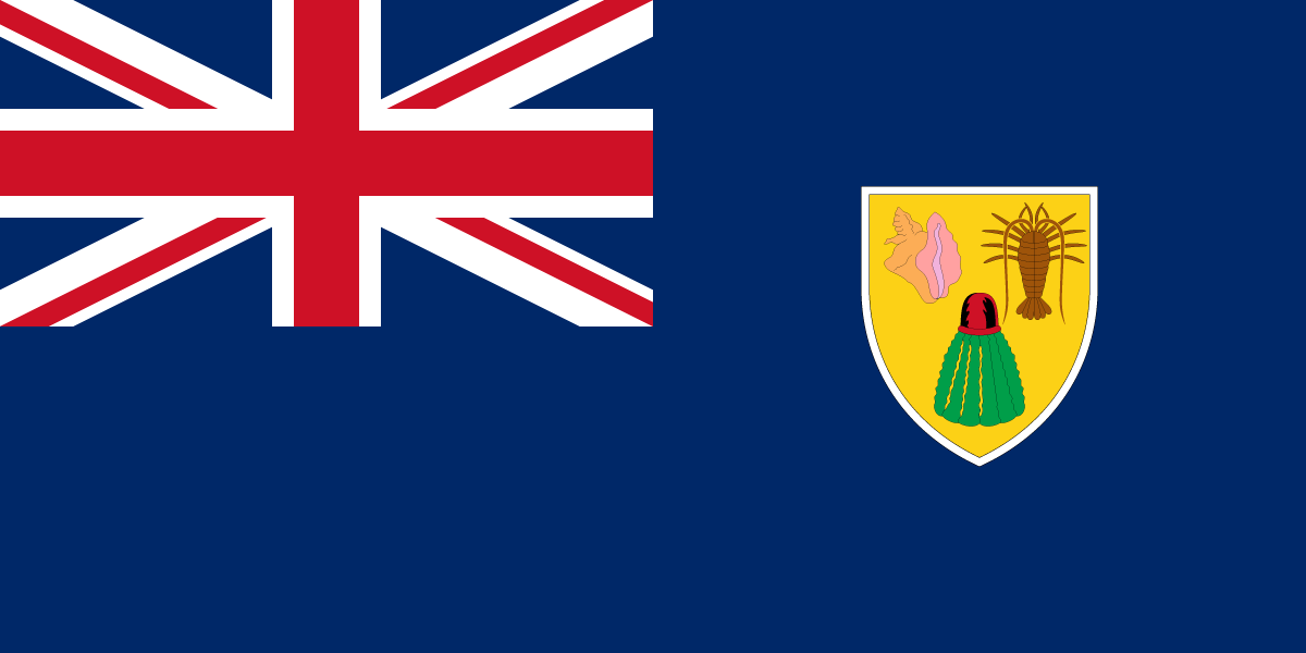 Turks and Caicos Islands flag image preview