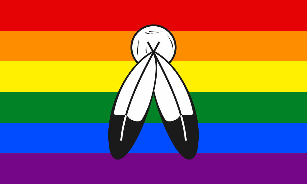 Two-Spirit flag image preview