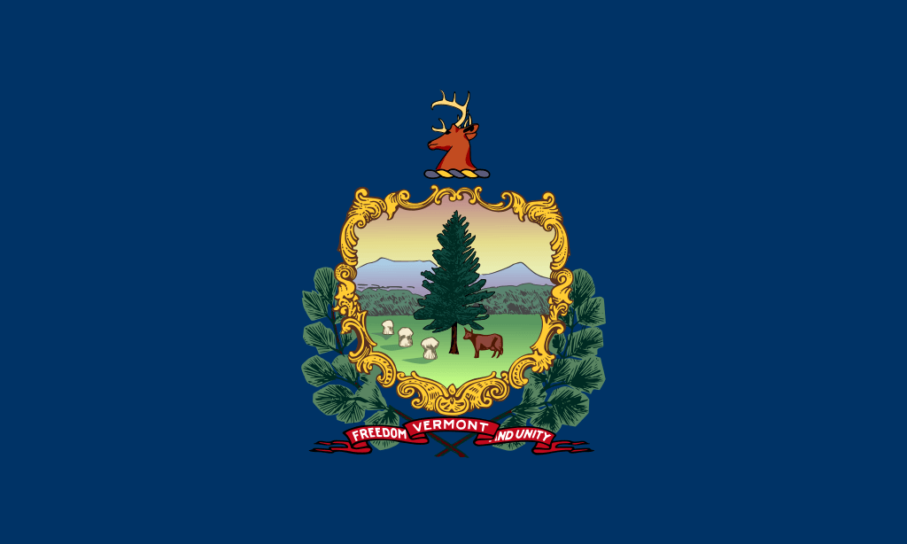 Vermont flag image preview
