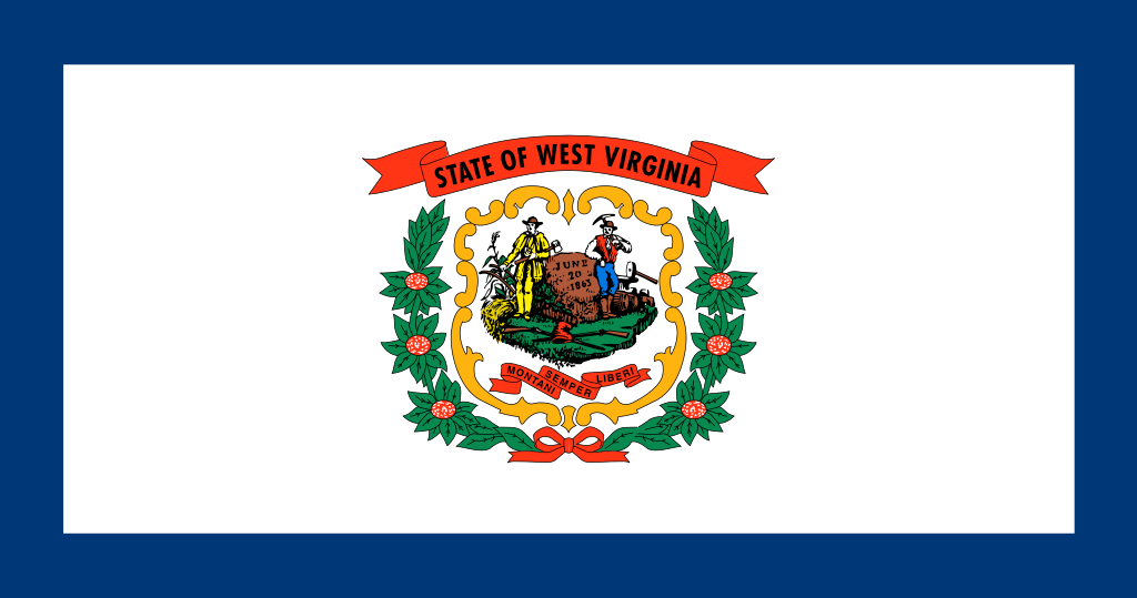 West Virginia flag image preview