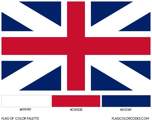 Northern Ireland Flag Color Palette